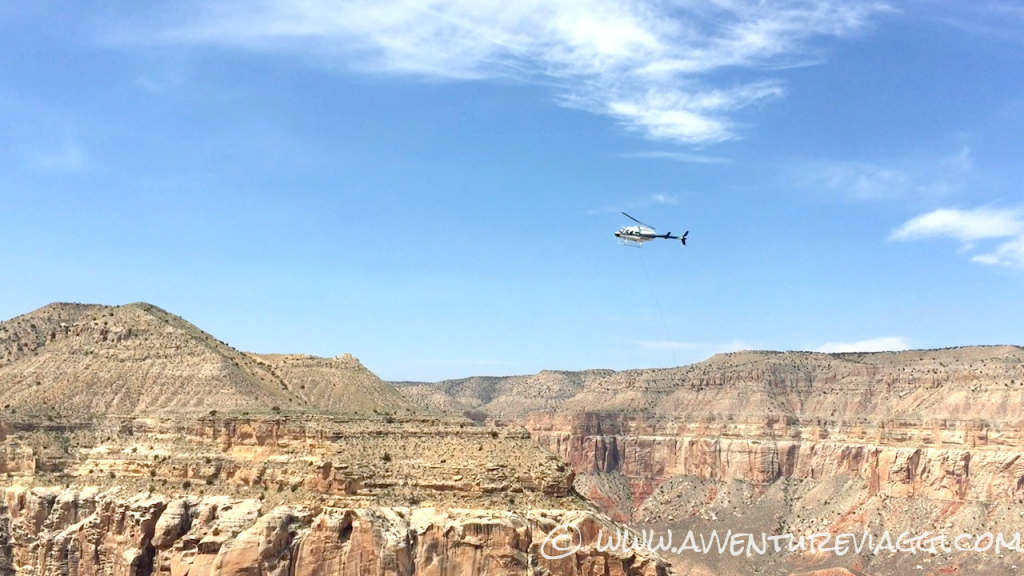 elicottero per havasu falls