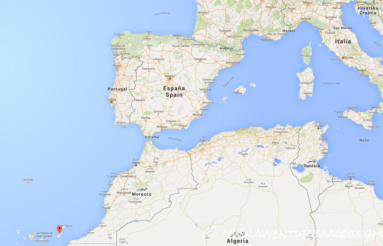 Cartina Spagna Fuerteventura.Fuerteventura Un Isola Tutta Per Te Avventure Viaggi