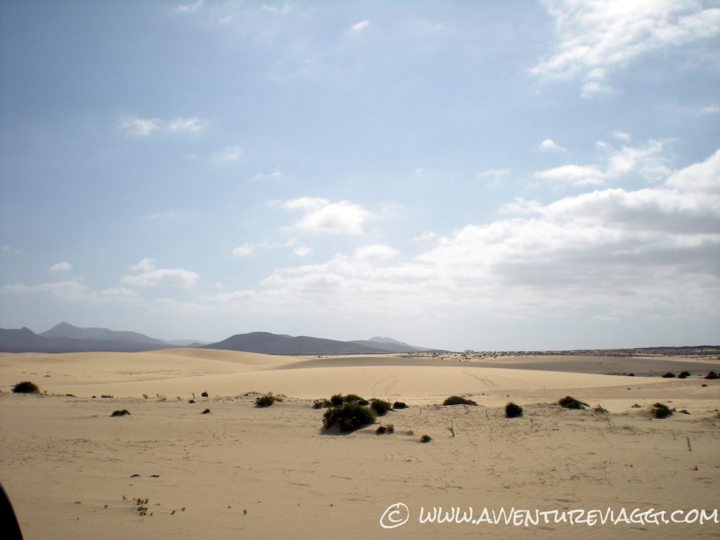 fuerteventura dune di sabbia