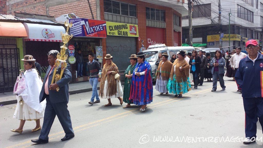 la paz processione