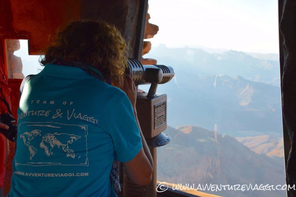 la vedetta sul gran canyon