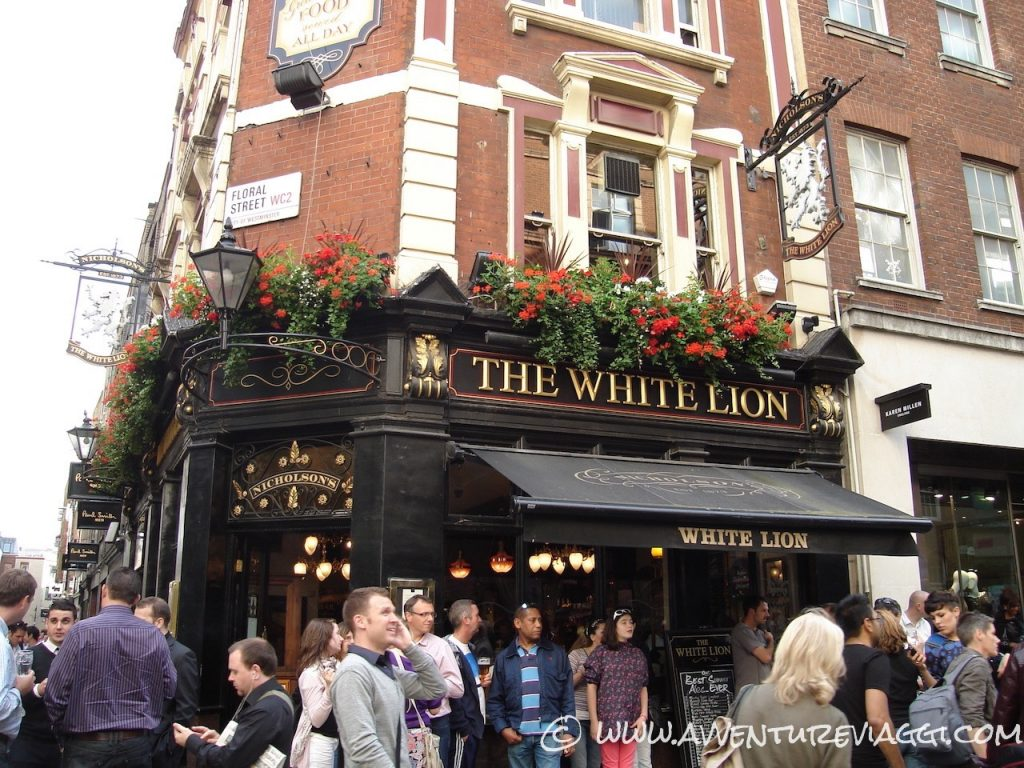londra the white lion