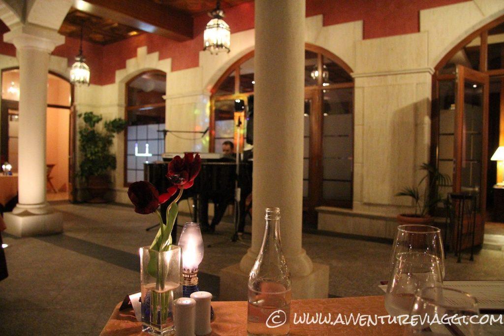 sala della cena a vital hotel