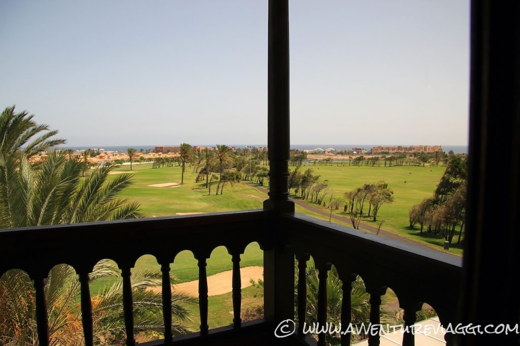 vital hotel vista sul campo da golf