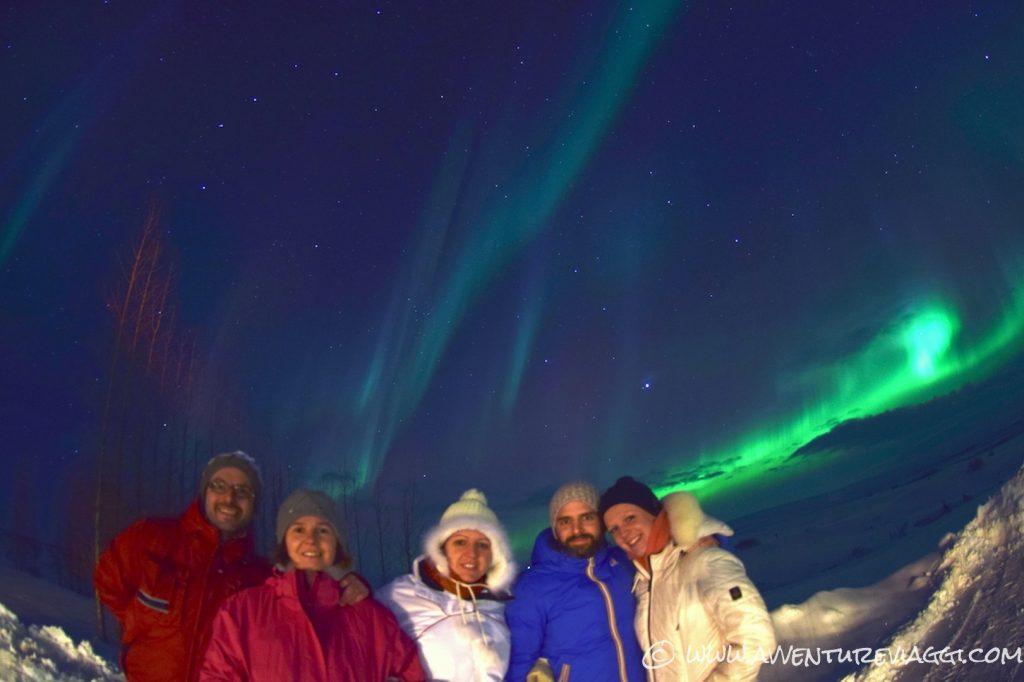 Islanda Aurora Boreale A&V 2016