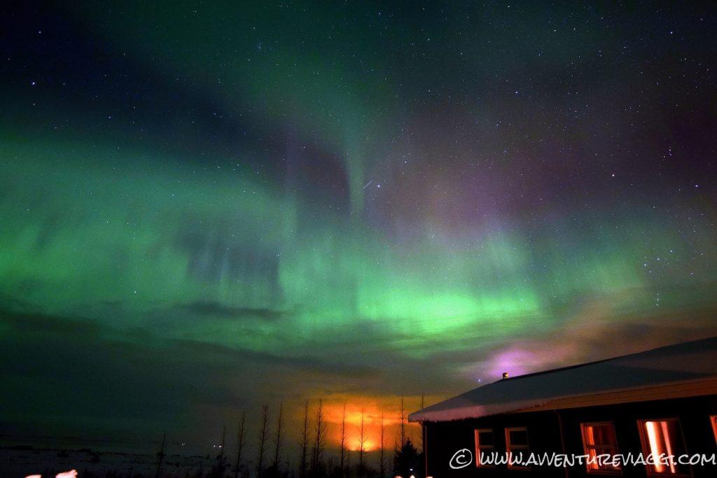 aurora borealis Islanda A&V 2016