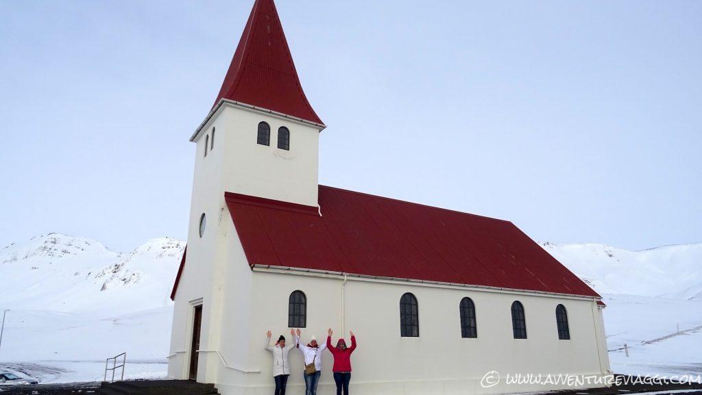 chiesa di VIK A&V Islanda 2016