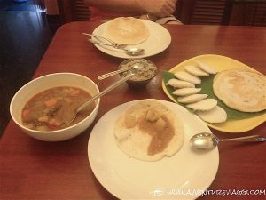 colazione kerala style