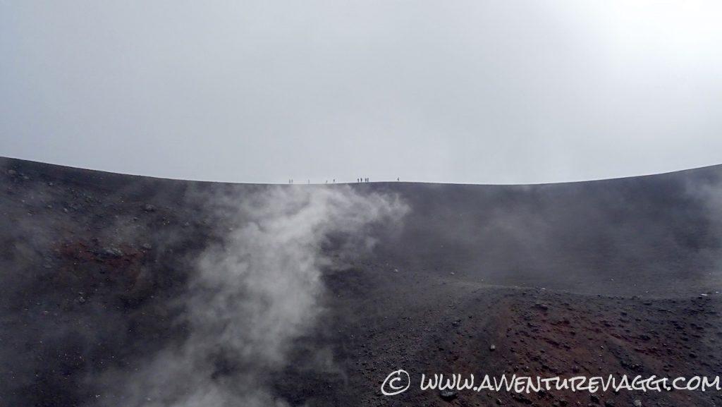 fumarole Etna