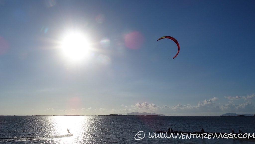 kite surf saline marsala