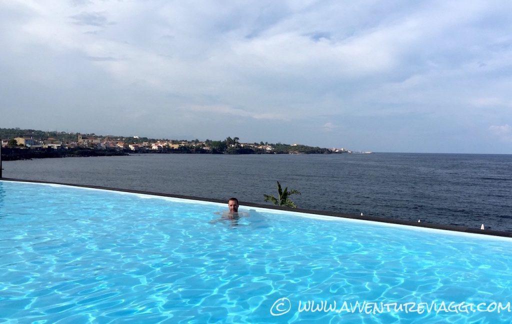 piscina nel blu Acireale